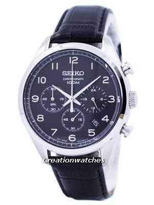 Seiko Quartz Chronograph SSB231 SSB231P1 SSB231P Men's Watch