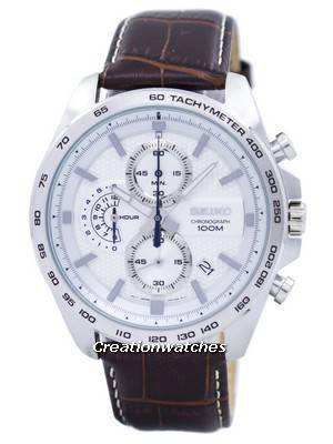 Seiko Chronograph Quartz Tachymeter SSB263 SSB263P1 SSB263P Men's Watch