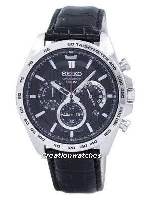Seiko Chronograph Quartz Tachymeter SSB305 SSB305P1 SSB305P Men's Watch