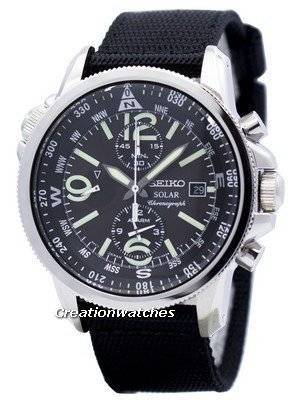 Seiko Prospex Solar Chronograph SSC135 SSC135P1 SSC135P Men's Watch
