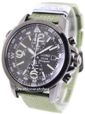 Seiko Prospex Solar Chronograph SSC137 SSC137P1 SSC137P Men's Watch