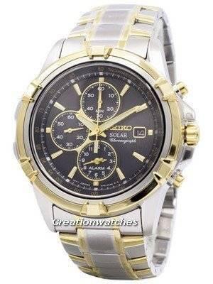 Seiko Solar Chronograph SSC142 SSC142P1 SSC142P Men's Watch