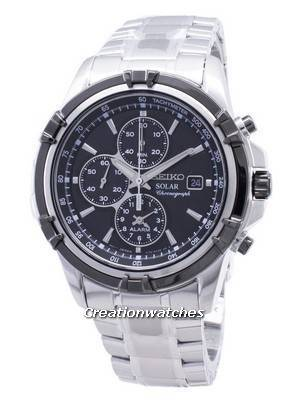 Seiko Solar Chronograph SSC147 SSC147P1 SSC147P Men's Watch