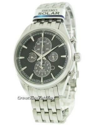 Seiko Solar Chronograph SSC211 SSC211P1 SSC211P Men's Watch