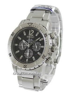 Seiko Solar Chronograph SSC223 SSC223P1 SSC223P Men's Watch