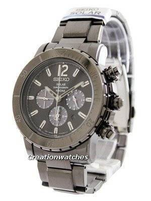 Seiko Solar Chronograph SSC225 SSC225P1 SSC225P Men's Watch