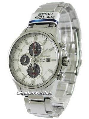 Seiko Solar Chronograph SSC251 SSC251P1 SSC251P Men's Watch