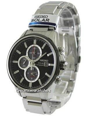 Seiko Solar Chronograph SSC255 SSC255P1 SSC255P Men's Watch