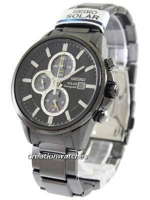 Seiko Solar Chronograph SSC257 SSC257P1 SSC257P Men's Watch
