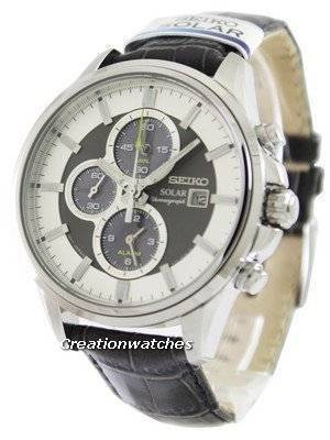 Seiko Solar Chronograph SSC259 SSC259P1 SSC259P Men's Watch
