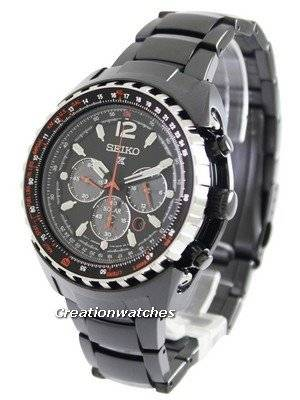 Seiko Prospex Aviation Solar Pilots SSC263 SSC263P1 SSC263P Men's Watch