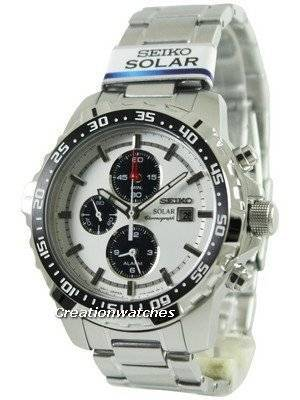 Seiko Solar Alarm Chronograph SSC297P1 SSC297P SSC297 Men's Watch
