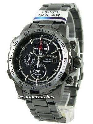Seiko Solar Chronograph SSC301 SSC301P1 SSC301P Men's Watch