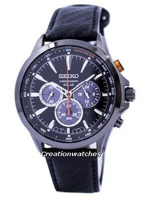 Seiko Solar Chronograph Tachymeter SSC499 SSC499P1 SSC499P Men's Watch