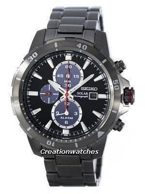 Seiko Solar Chronograph Alarm SSC559 SSC559P1 SSC559P Men's Watch