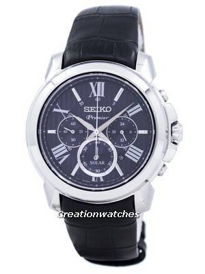 Seiko Premier Solar Chronograph SSC597P2 Men's Watch
