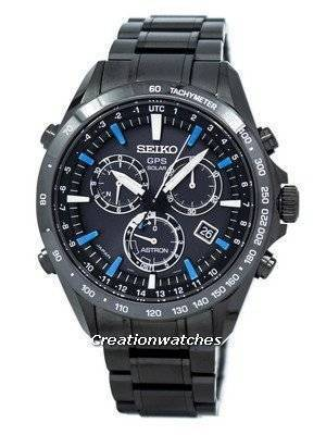 Seiko Astron GPS Solar Chronograph Atomic SSE013 SSE013J1 SSE013J Men's Watch