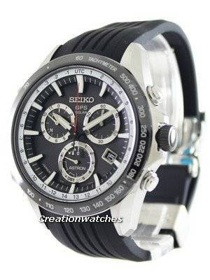 Seiko Astron GPS Solar Chronograph Atomic SSE015 SSE015J1 SSE015J Men's Watch