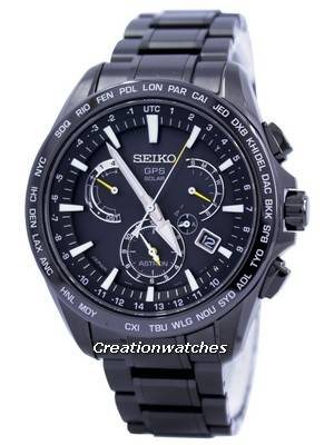 Seiko Astron GPS Solar Dual Time Japan Made SSE079 SSE079J1 SSE079J Men's Watch
