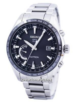 Seiko Astron GPS Solar World Time Japan Made SSE085 SSE085J1 SSE085J Men's Watch
