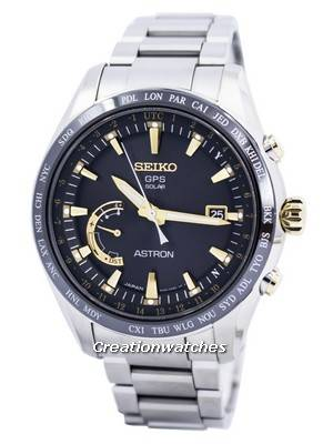 Seiko Astron GPS Solar World Time Japan Made SSE087 SSE087J1 SSE087J Men's Watch