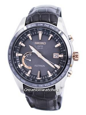 Seiko Astron GPS Solar World Time Japan Made SSE095 SSE095J1 SSE095J Men's Watch