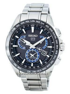 Seiko Astron GPS Solar Dual Time Japan Made SSE107 SSE107J1 SSE107J Men's Watch