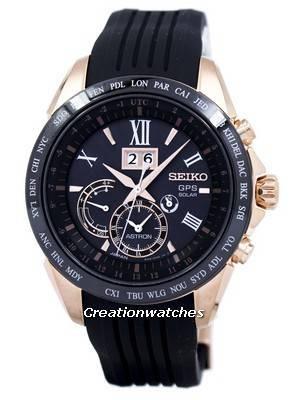 Seiko Astron GPS Solar Perpetual Calendar SSE153 SSE153J1 SSE153J Men's Watch
