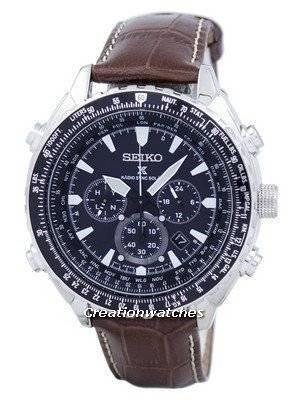 Seiko Prospex Radio Sync Solar Chronograph SSG005 SSG005P1 SSG005P Men's Watch