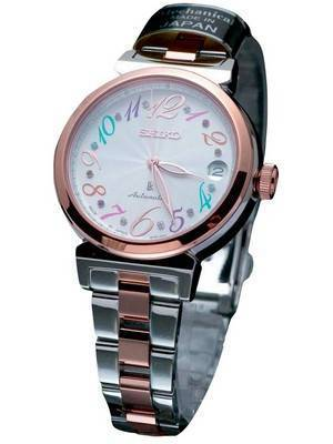 Seiko Lukia Automatic Swarovski SSVM018 Women's Watch
