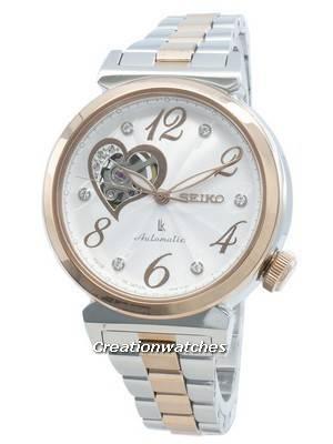 Seiko Lukia Automatic Swarovski Crystal Japan Made SSVM022 Women's Watch