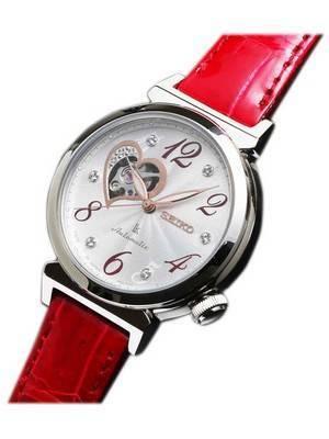 Seiko Lukia Automatic Swarovski Crystal Japan Made SSVM023 Women's Watch