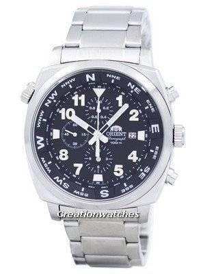 Orient Pilot Chronograph Quartz Japan Made STT17001B0 Men's Watch