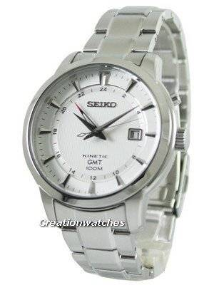 Seiko Kinetic GMT SUN029 SUN029P1 SUN029P Men's Watch