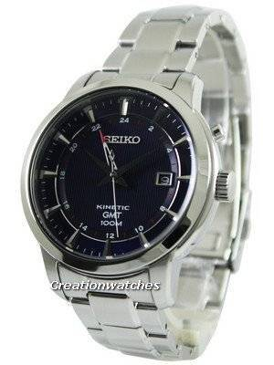 Seiko Kinetic GMT SUN031 SUN031P1 SUN031P Men's Watch