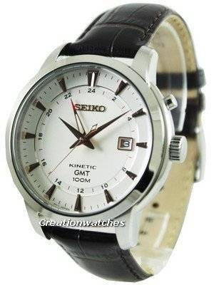 Seiko Kinetic GMT SUN035 SUN035P1 SUN035P Men's Watch