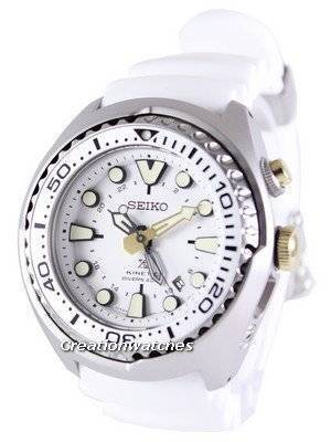 Seiko Prospex Sea Kinetic GMT Diver's 200M SUN043 SUN043P1 SUN043P Men's Watch