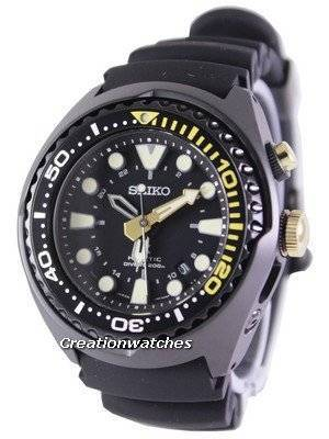 Seiko Prospex Sea Kinetic GMT Diver's 200M SUN045 SUN045P1 SUN045P Men's Watch