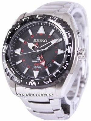 Seiko Prospex Land Kinetic GMT 100M SUN049 SUN049P1 SUN049P Men's Watch