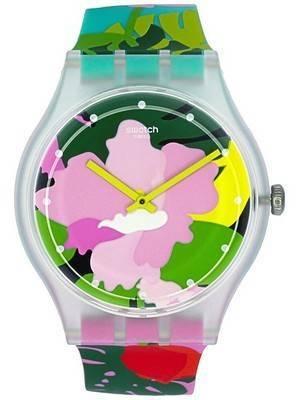 Swatch Originals Tropical Garden Analog Quartz SUOK132 Unisex Watch