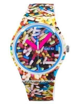 Swatch Originals Sprinkled Quartz SUOW705 Unisex Watch