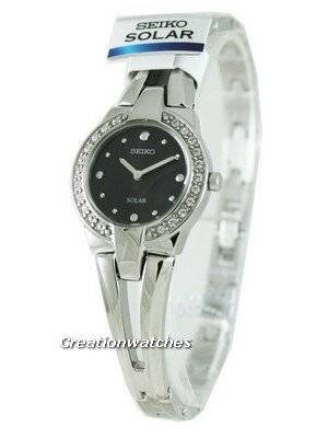 Seiko quartz SUP051P1 SUP051 SUP051P Solar Bracelet Ladies Watch
