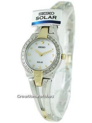 Seiko Quartz Solar SUP052P1 SUP052 SUP052P Ladies Watch