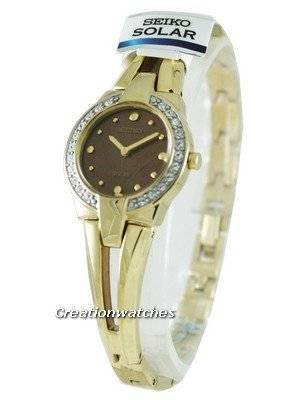 Seiko Solar Quartz SUP054P1 SUP054 SUP054P Ladies Watch
