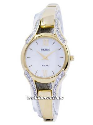 Seiko Core Solar Swarovski Crystals SUP216 SUP216P1 SUP216P Women's Watch