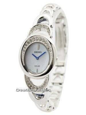 Seiko Core Solar Swarovski Crystals SUP295 SUP295P1 SUP295P Women's Watch