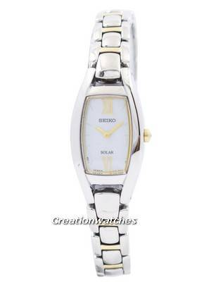 Seiko Solar Two Tone SUP312 SUP312P1 SUP312P Women's Watch