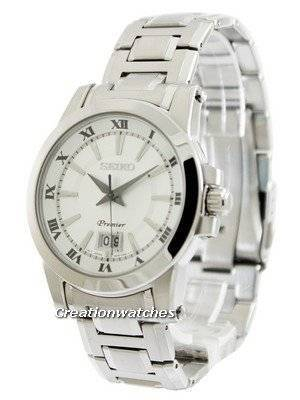Seiko Premier Big Date Calendar SUR013 SUR013P1 SUR013P Men's Watch