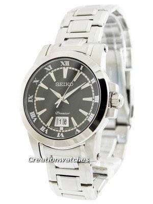 Seiko Premier Big Date Calendar SUR015 SUR015P1 SUR015P Men's Watch