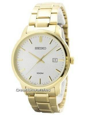 Seiko Quartz Neo Classic SUR198 SUR198P1 SUR198P Men's Watch